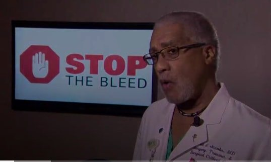 NC-ACS Committee on Trauma Chair Dr. David Jacobs was recently featured on WCNC-TV promoting the live saving Stop The Bleed Program