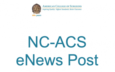 NC-ACS eNews – October 21, 2020
