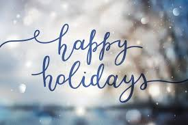 Happy Holidays from the  NC-ACS President