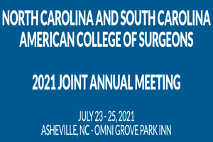 Registration is Open for NC/SC ACS 2021 Annual Meeting